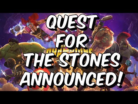 Quest For The Stones & Avengers Last Stand Announced! - Marvel Contest of Champions