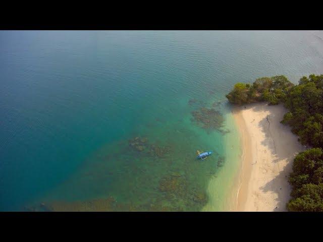 Pasir Putih Pangandaran Beach Short Clip  | Gitup Git 2 Pro Footage | MJX Bugs 3