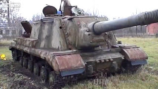 Start up heavy tank destroyer after 65 years