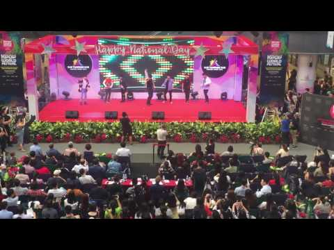 050817 KPOP WORLD FESTIVAL SINGAPORE LEE JUNG SHIN #4 (BTS PERFORMANCE)