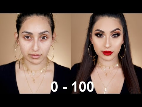 0 TO 100:  MY GO TO GLAM MAKEUP | BEAUTYYBIRD