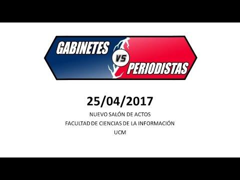 GABINETES VS PERIODISTAS
