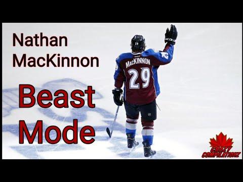 Nathan MacKinnon goes Beast Mode