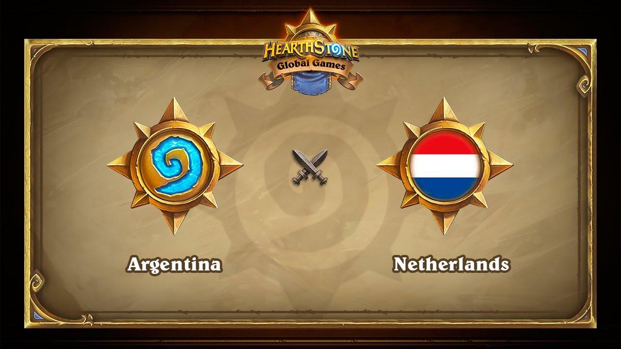Аргентина vs Голландия, Hearthstone Global Games Phase 2