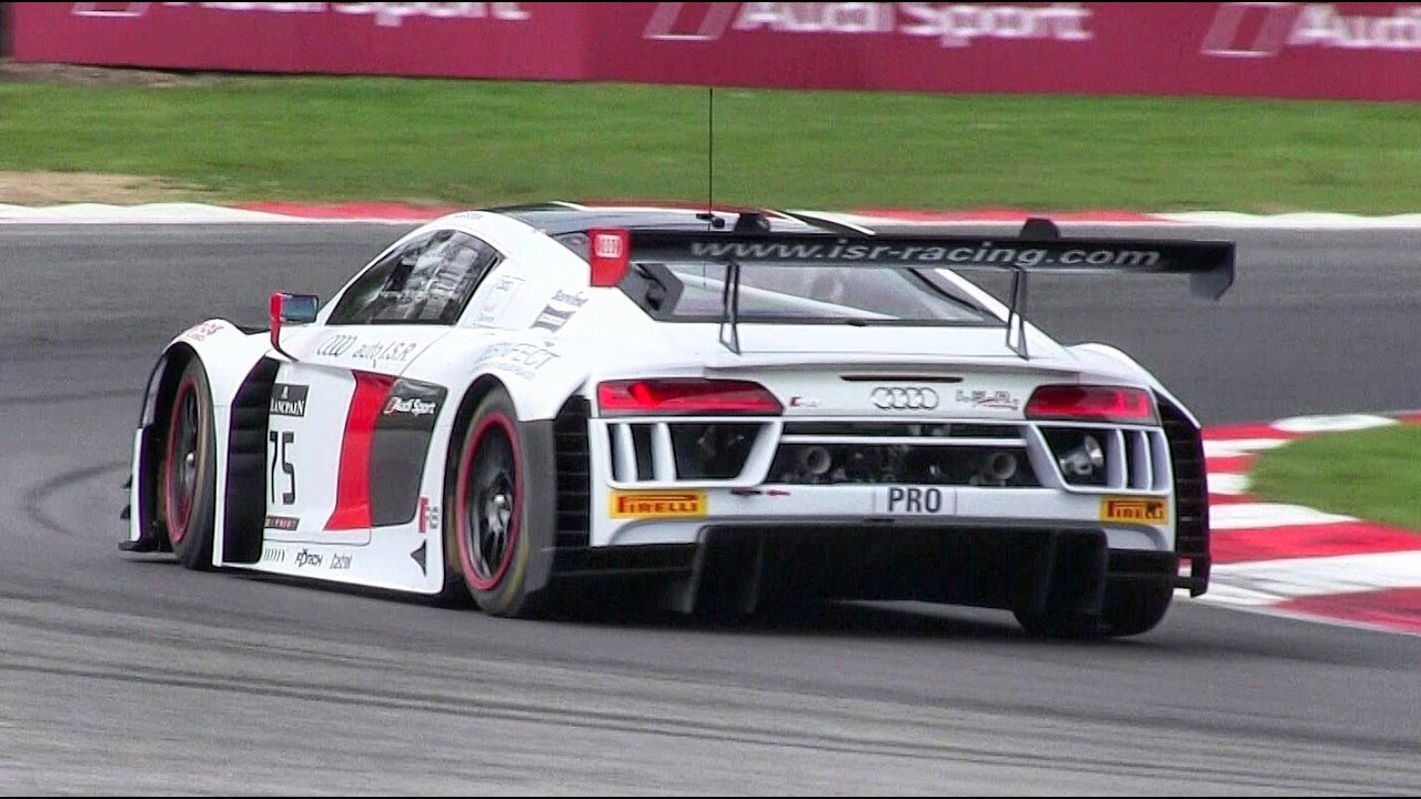 2017 Audi R8 LMS GT3 Pure V10 Sound On Track! - YouTube