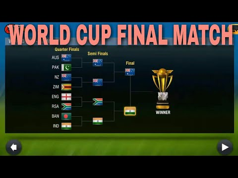 wcc2 world cup final match gameplay Full Match India VS Australia