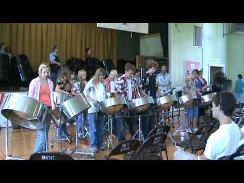 "West Union High School Steel Drum Band - ""Don't Look Back"""