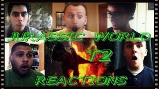 JURASSIC WORLD Trailer #2 REACTIONS