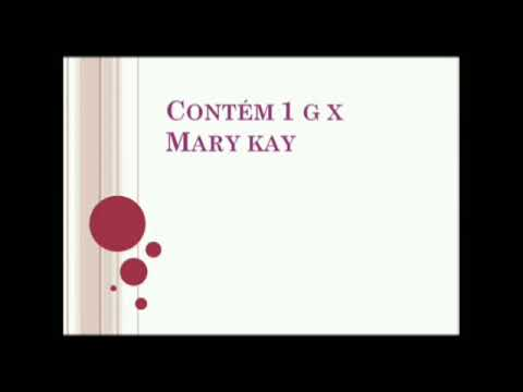 Comparativo Contém 1 G x Mary Kay de YouTube · Duração:  3 minutos 21 segundos