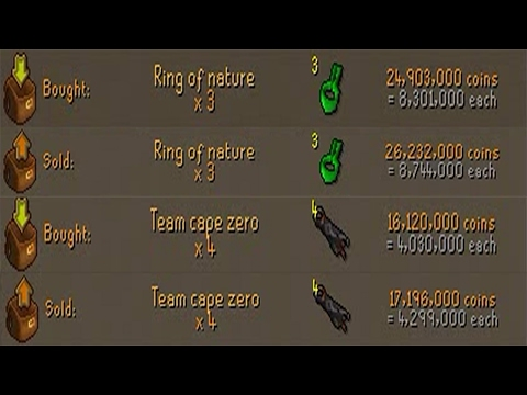 [OSRS] RINGS OF NATURE HAVE AN INSANE MARGIN IN F2P - EP #4 - Flipping to 100m using F2p Items Only!