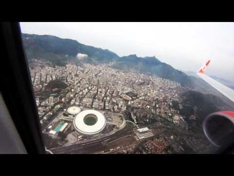 Flyover Maracaná Stadium in Rio de Janeiro