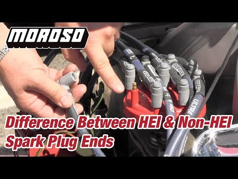 Difference Between HEI & Non-HEI Spark Plug Ends - YouTube