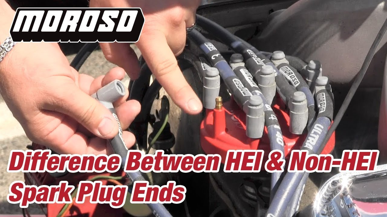 hight resolution of difference between hei non hei spark plug ends