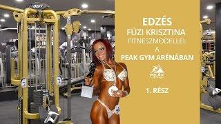 Fitnesz modell fenék edzés nőknek!