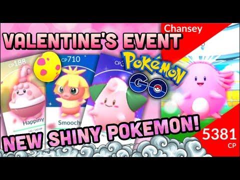 NEW SHINY POKEMON & HAPPINY NOW IN POKEMON GO | T3 CHANSEY RAID | VALENTINE'S EVENT thumbnail