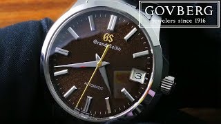 Grand Seiko 9S Automatic 20th Anniversary Limited Edition (SBGR311) Functions & Care Guide
