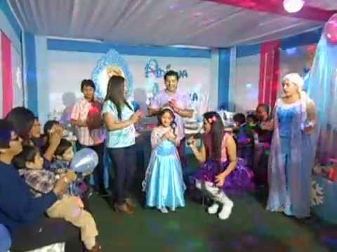 Fiesta Temtica Frozen  YouTube