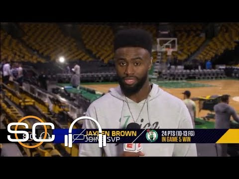 Jaylen Brown: 'We don't back down from nobody' | SC with SVP | ESPN