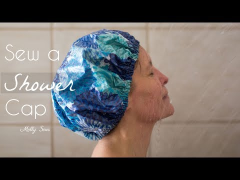 How to Sew a Shower Cap