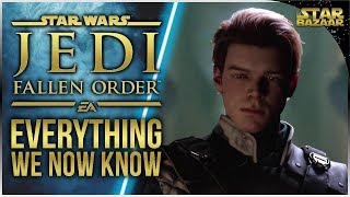ALL Confirmed Details NO DLC | Star Wars Jedi: Fallen Order