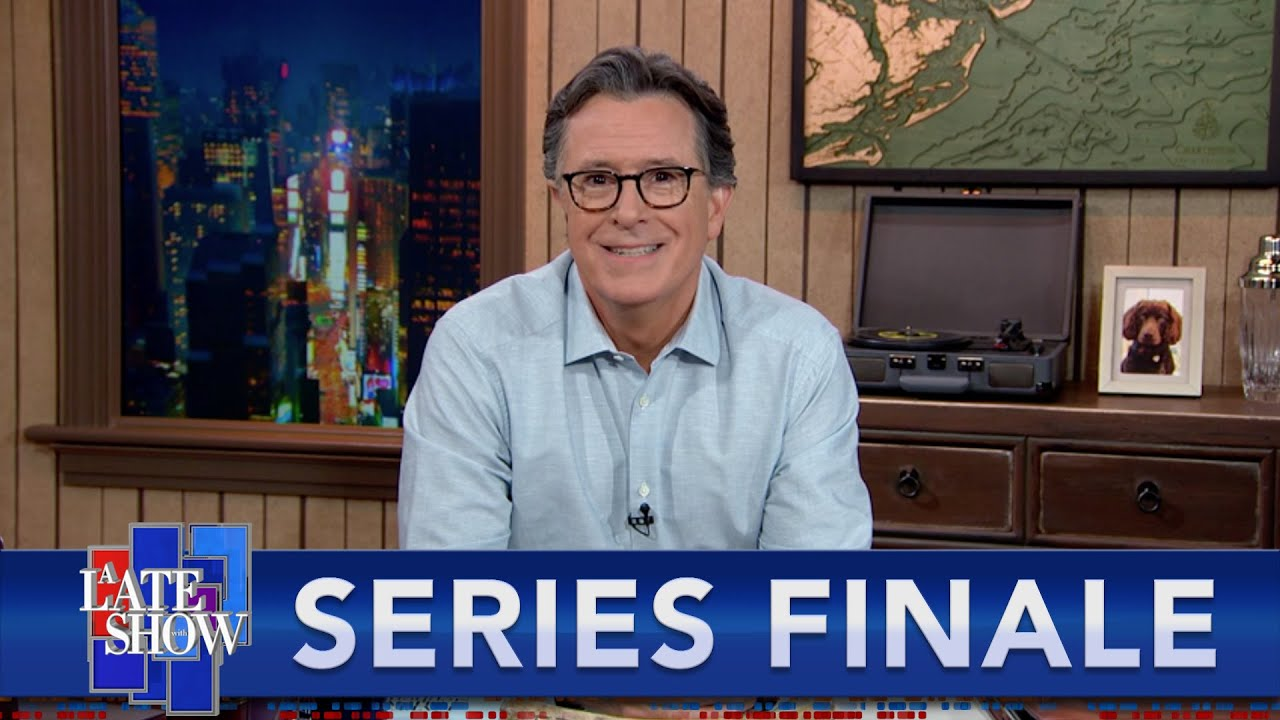 Download A Late Show Series Finale: Stephen Says Farewell To The Storage Closet