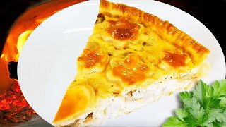 Healthy Chicken and Mushroom Pie - Easy Chicken Pie Recipe
