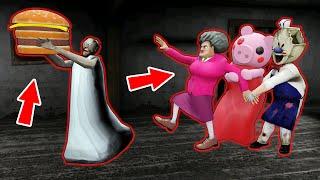 Granny vs Scary Teacher, Ice Scream, Piggy - funny horror animation parody (p.45)