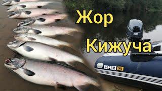 Жор кижуча Супер рыбалка Сахалинская рыбалка \u0026 Sakhalin Fishing