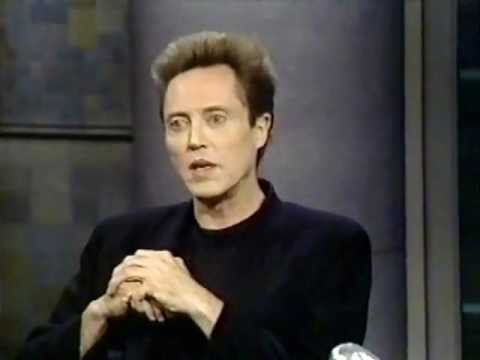 Christopher Walken on Late Night (1992)