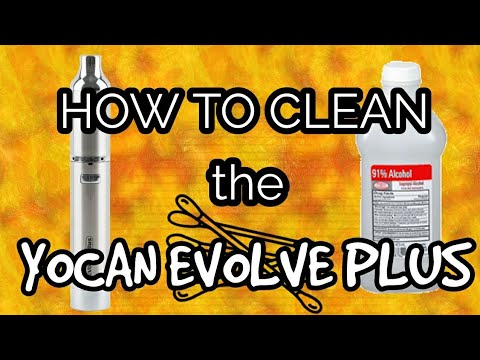 How to clean a YoCan Evolve Plus