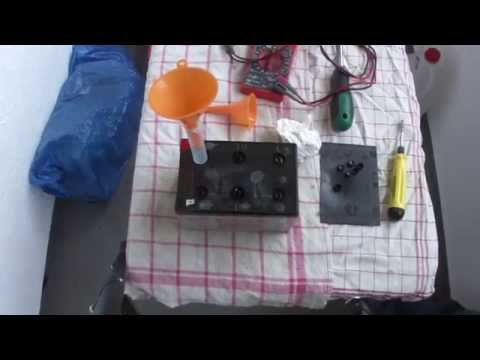 Bleivlies Akku Reparatur - Wie man einen wartungsfreien Bleivlies Akkus repariert