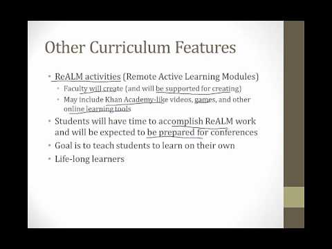 UCONN School of Medicine New Curriculum Overview