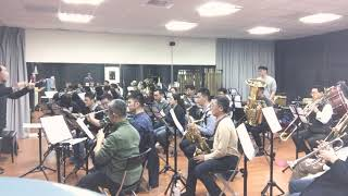 centuria overture for band 慢板段落 20180223