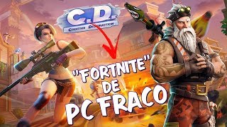 FORTNITE of WEAK PC? DOWNLOAD FREE ON STEAM | CREATIVE DESTRUCTION PC