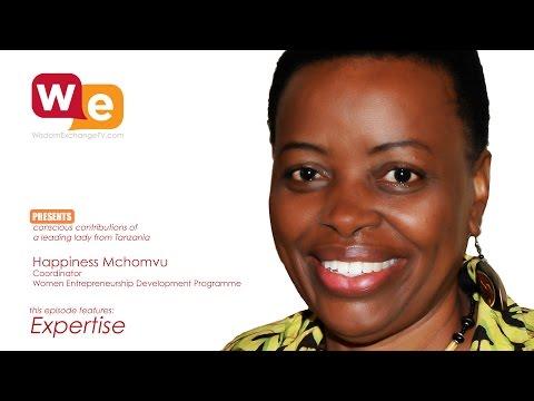 Happniess Mchomvu with Suzanne F Stevens on Wisdom Exchange TV: Expertise