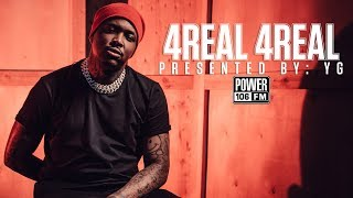 YG Talks Fav Song On '4Real 4Real' & Nipsey Hussle's Death Reuniting Hoods In Los Angeles