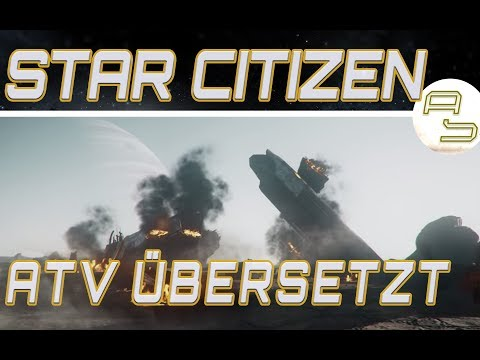 [Übersetzt] Star Citizen: Around the Verse - The Shape of Derelict Ships (13.07.2017)