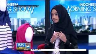 Talkshow bersama Sukainah Shirin Al Athrus Hijabers Cilik - IMS