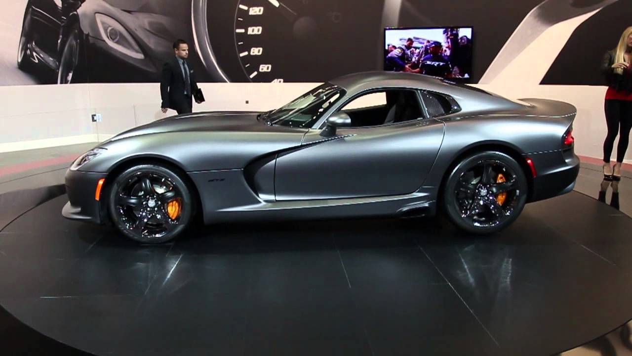 Matte Grey Srt Viper Gts Youtube