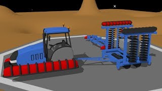 Abducted Tractor AGAIN! -in- UFO - Video Cartoons for Kids | kids tv - song | Bajka Traktor