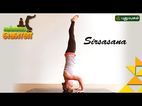 Yoga poses, Sirsasana VallamaiKol Good Morning Tamizha 12-02-2017 PuthuYugamTV Show Online
