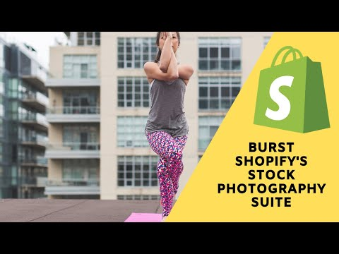 Shopify: How to use the free stock photography site burst to find high resolution images