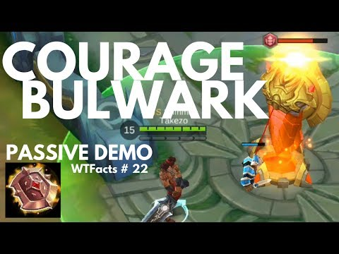 PASSIVE: HEAVY ARMOR - COURAGE BULWARK | WTFacts # 22 | Mobile Legends