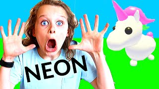 BEST NEON PET WINS MYSTERY PRIZE Roblox Gaming w/ The Norris Nuts