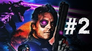 Far Cry 3 Blood Dragon Gameplay Walkthrough Part 2 - Dragons - Mission 2