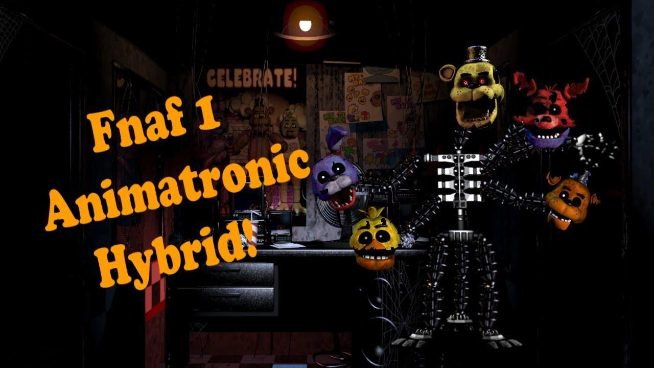 Fnaf 1 Animatronic Hybrid Speed Edit Youtube