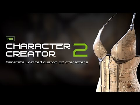 Character Creator 2.0 - Dynamic PBR Visual & Export Features