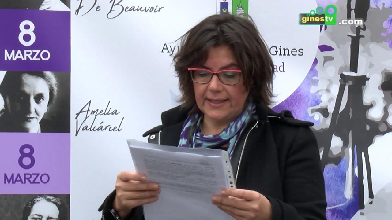 Gines se suma al paro parcial con motivo del Día de la Mujer para reivindicar la igualdad real