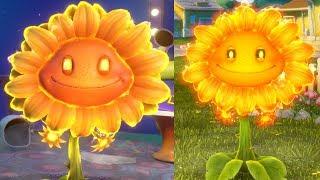 Обзор на ОГНЕННЫЙ ПОДСОЛНУХ [Fire Flower] Растения против Зомби: Садовая Война 2