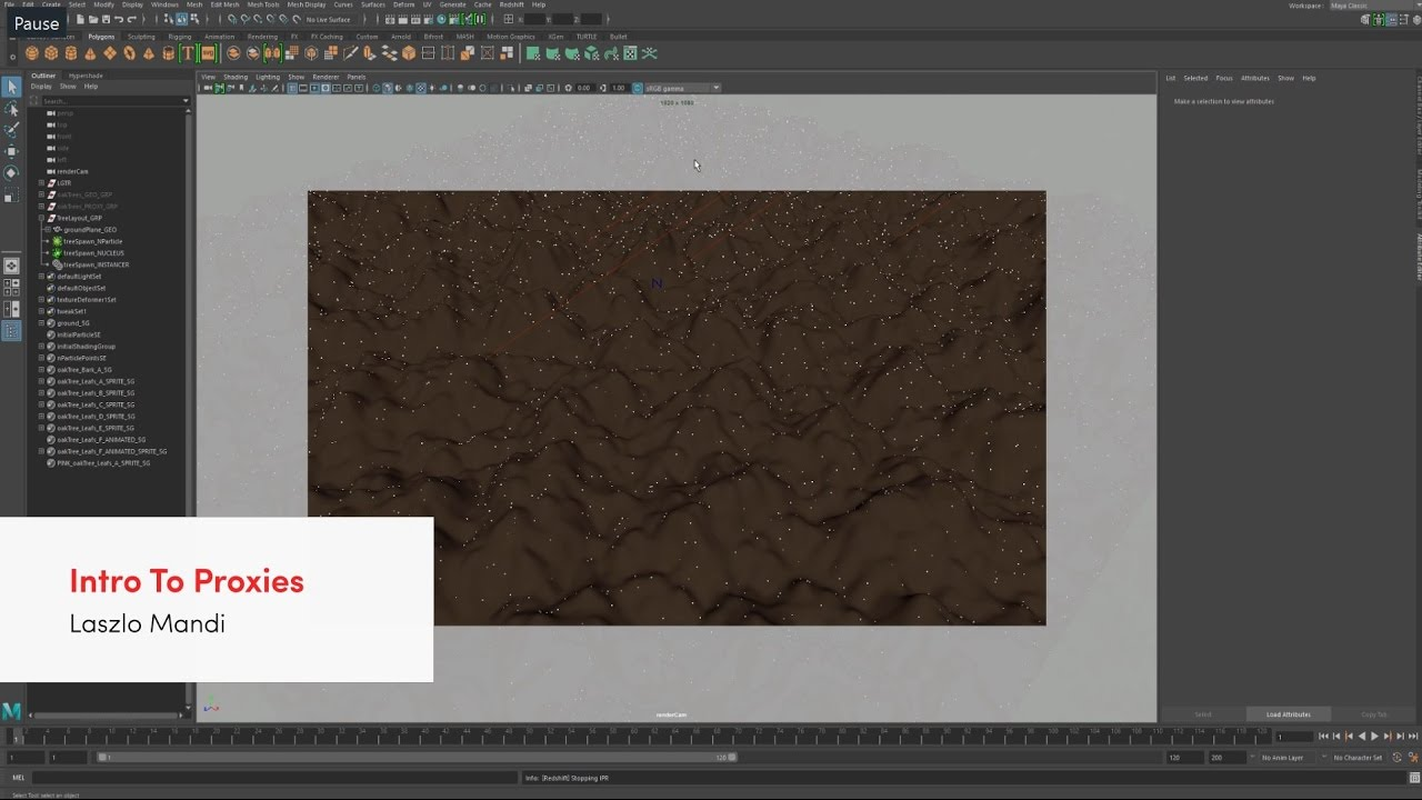 Maya - Proxies Tutorial